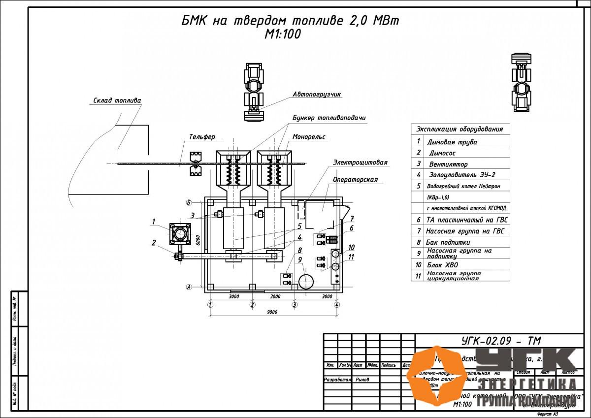 строительство бмк 2 5 мвт